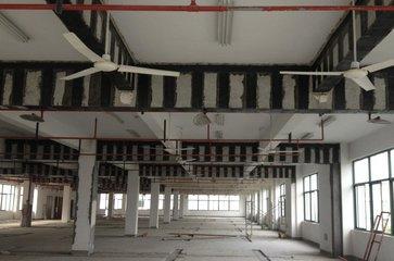 楼板裂缝粘碳纤维布竞博jbo