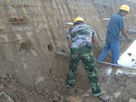 基坑支护边坡围护施工